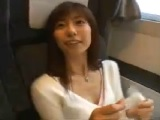 【エッチ動画】 【アダルト動画】お姉様と列車内の個室で隠し撮りSEX