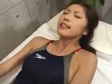 【無料エロ動画】 【アダルト動画】競泳ビキニを着た御姉さんと着衣エッチ