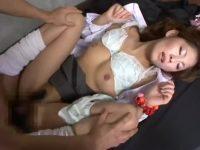 【H動画】 【アダルト動画】スイカップ自慢の保険室の美麗先生がエッチな介護で男を骨抜きにする!
