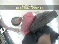 【アダルト動画】 【アダルト動画】通学服女子高生は買い物に夢中!!!ミニスカの中身を逆さ撮りし、キャワワパンティを盗み見しちゃいました!!!