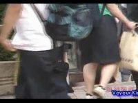 【エロ動画】 【アダルト動画】修学渡航中に都内にやって来たユニフォーム姿の田舎女子高生達!!!ミニスカの中身を逆さ撮りしモロパン頂きました!!