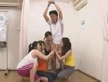 【アダルト動画】 【アダルト動画】ヨガ教室で欲求不満な変態な女妻たちのおもちゃにされた男性イントラ
