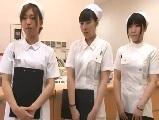 【H動画】 【アダルト動画】セックス欲に餓えた研修中の看護師が欲求不満な男性入院患者とSEX1