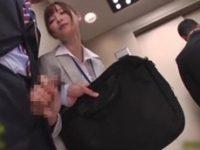 【天使もえ】 【アダルト動画】課長を魅惑むっつりスケベな女勤務先レディ エレベーターでこっそり手淫おしゃぶりチオ!天使もえ