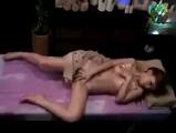 【エッチ動画】 【アダルト動画】SPA店で媚薬効果のあるオイルを塗られて超反応が良いになった美女妻