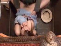 【エッチ動画】 【アダルト動画】居酒屋の便所に隠しカメラを仕掛けたら性行為してるバカップルがいたんだが♪
