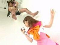 【紋舞らん】 【アダルト動画】グラビアアイドルのPV激写にふりそそぐ液体が白濁液だった☆紋舞らん