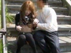 【無料エロ動画】 【アダルト動画】露出プレイに隠し撮りHをオジサンと楽しむドしろーとぎゃる