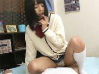 【エッチ動画】 【アダルト動画】女先輩にHの練習だからとお願いしまくってスマタしてもらったら。