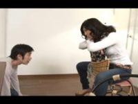 【無料エロ動画】 【アダルト動画】【エム男】不倫がバレてM奴隷に降格! クィーン意中の女のボーイフレンド弄り♪