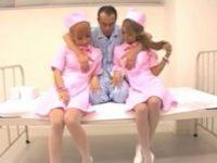 【無料エロ動画】 【アダルト動画】入院最高!!!黒今時ギャル看護師2人がエッチで性処理してくれた!!!