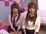 【H動画】 【アダルト動画】めんこいユニフォーム女子が好きなボーイに同時に告白して・・・