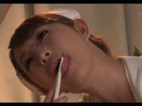 【無料エロ動画】 【アダルト動画】エロドむっつりスケベ女白衣の天使真夜中のぺろぺろチオ問診♪雫