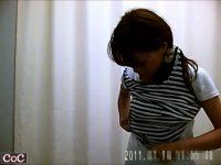 【エッチ動画】 【アダルト動画】某病院内の試着室に仕掛けられた隠しカメラ!!美しい乳房なねえさんや若奥様のお着替えシーンを完全盗み見!!!