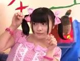 【桃子】 【アダルト動画】ももちこと嗣永桃子に激似のロリータ系ツルツル娘とH