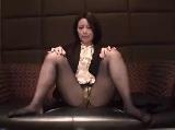 【無料エロ動画】 【アダルト動画】黒パンツストッキング女子正社員とホテルで着衣個人的SEXH