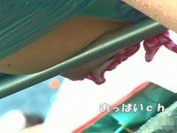 【無料エロ動画】 【アダルト動画】海でくつろぐビキニ姿のぎゃるの姿を隠し撮り!!ビキニのサイズが緩めなので胸チラ、乳首筋が丸見えに!!