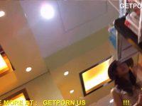 【エッチ動画】 【アダルト動画】お洒落なアパレルショップで働く小町娘 SHOP店員★あまりにめんこいので抑制 できずにパンモロ逆さ撮り♪