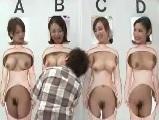 【無料エロ動画】 【アダルト動画】愚息ならわかる!?4人の女性の体のパーツからから母さんを当ててみて