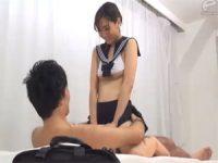 【H動画】 【アダルト動画】女性正社員のハミ出た大きな乳とパンモロが課長のチ○ポを大誘い!!!